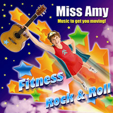 Miss Amy's Fitness Rock & Roll CD!